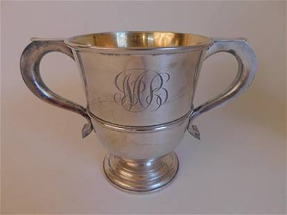 HOWARD STERLING SILVER LOVING CUP