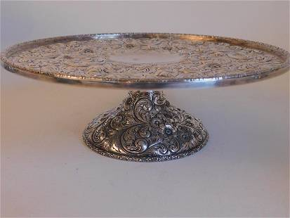 HOWARD STERLING REPOUSSE COMPOTE