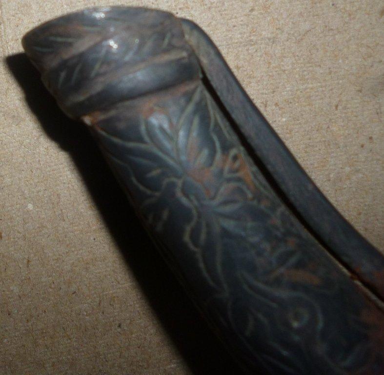 Indo-Persian-Mughal-Islamic-Gun-Powder-Flask-Islam - 3