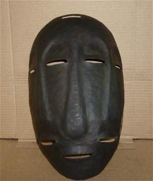 WARRIOR STEEL MASK 3 FACES IN 1 TO MISGUIDE ENEMY