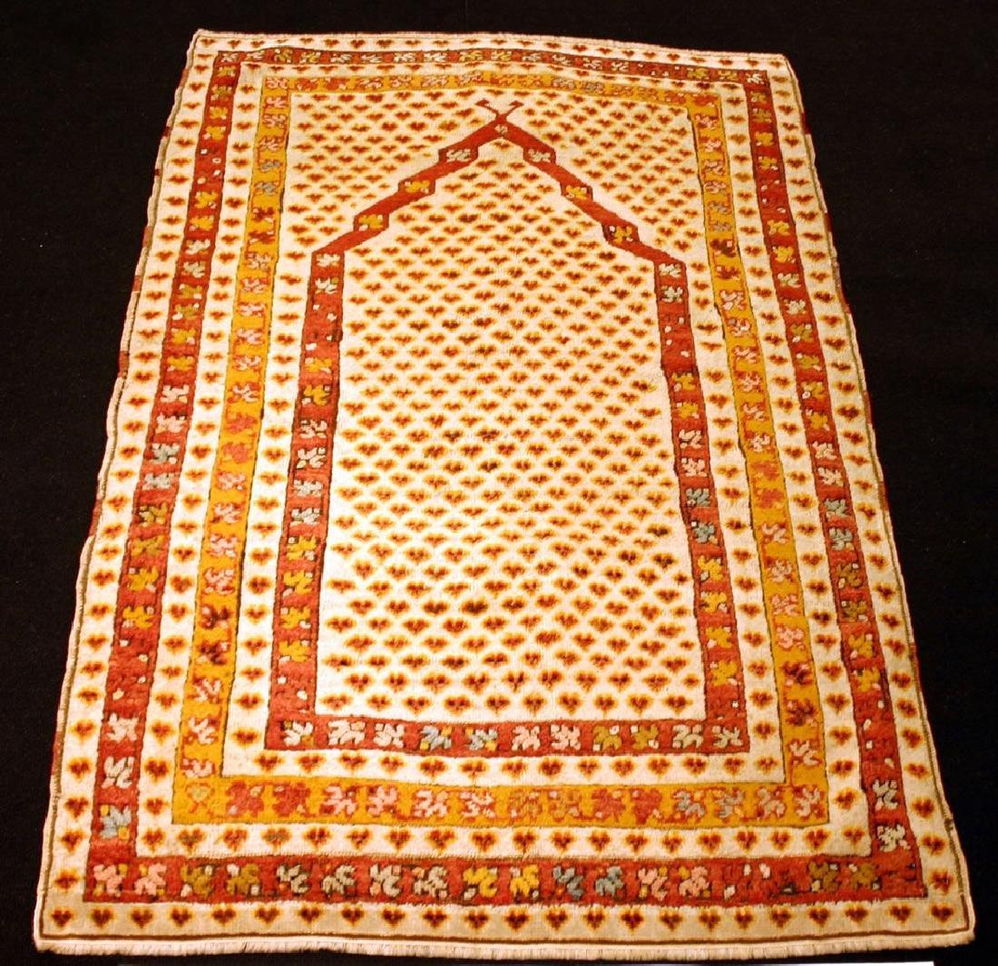 Antique Turkish Mucur Carpet/Rug