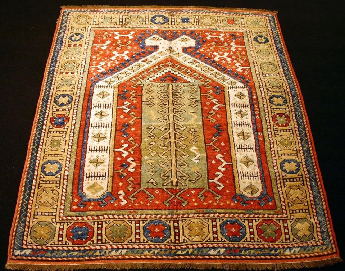 Antique Turkish Izmir/Bergema Rug
