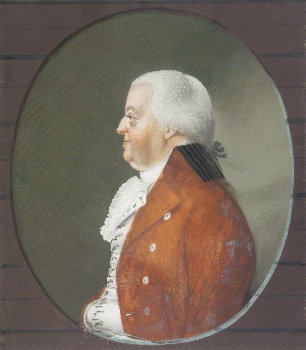 """14: Johann Friedrich Leberecht Reinhold """"Portrait of"""