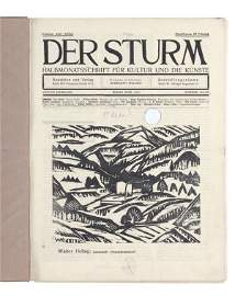 "358: Periodical ""Der Sturm"" (The storm). 1913-1914."