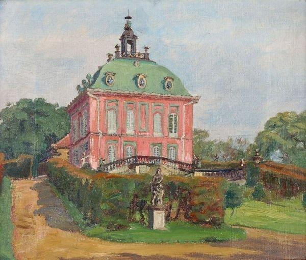 """15: Otto Julius Fritzsche """"Moritzburg, Fasanenschlößc"""