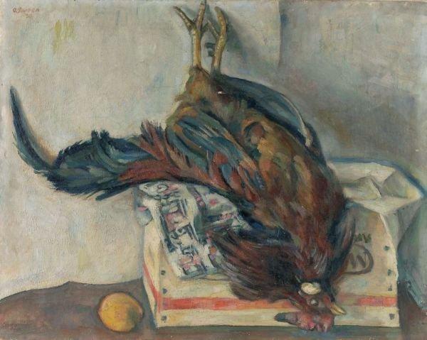 "17: Otto Garten ""Still life with dead cock"". 1930."