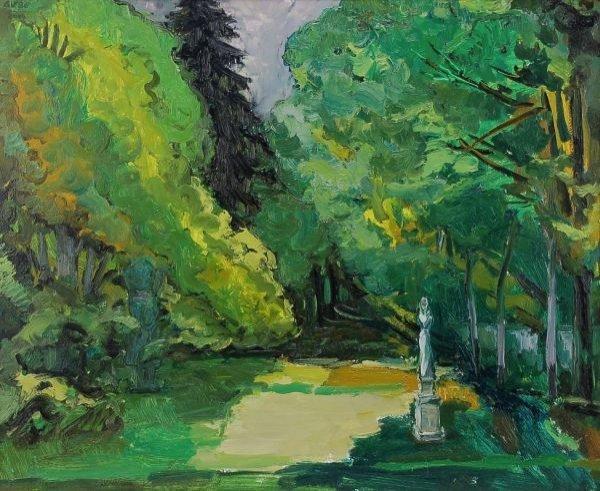 "18: Hubertus Giebe ""The artists garden - Herkuleskeul"