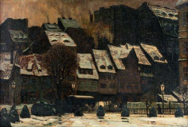 """21: Hans Hartig """"Alt-Dresden"""". 1903."""
