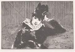 199 Edouard Manet La Parisienne Around 1873