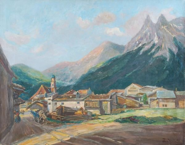 "20: Walter Friederici ""Mittenwald"". Around 1930."