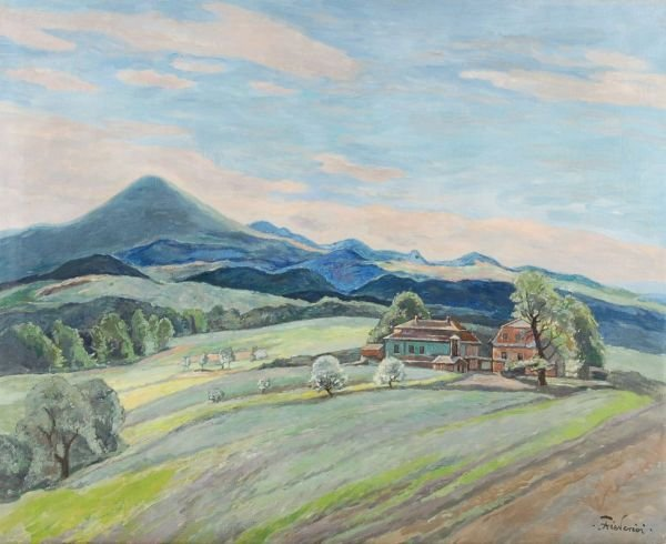 "21: Walter Friederici ""At Kaltenberg"". Around 1930."