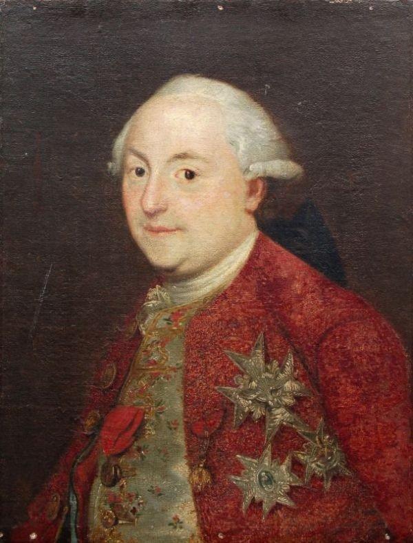Unbekannter Künstler, Bildnis eines Mitglieds des Hofes
