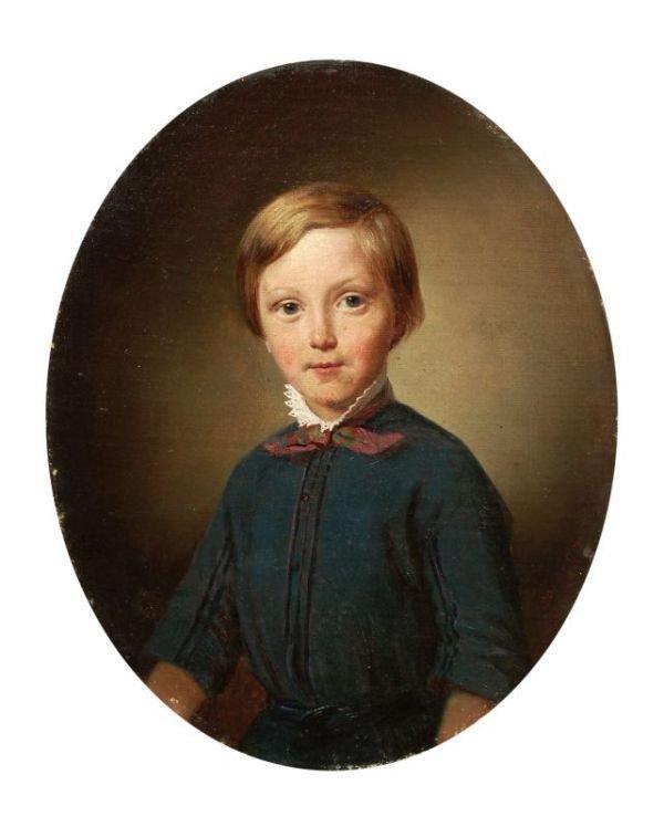 Hermann Ernecke, Knabenportrait. 1838 oder 1858.