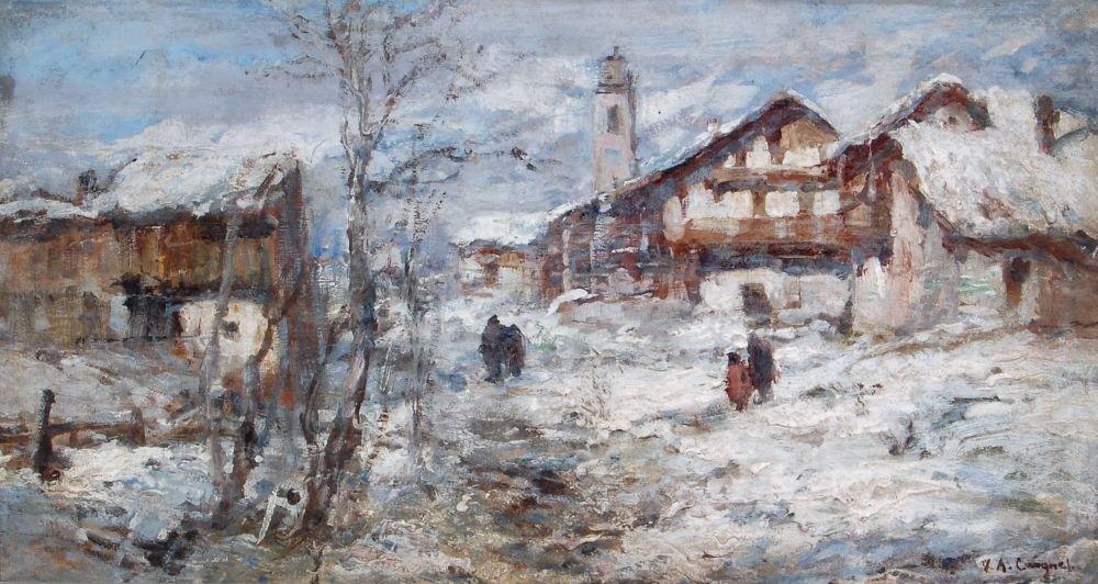 """4: Vittorio Antonio Cargnel """"Inverno nell'alta montagna"""