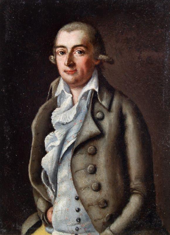 20: Unbekannter Künstler, Portrait eines jungen Herrn.