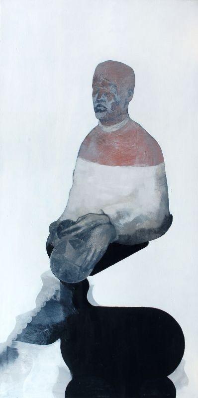 27: Hans Bohlmann, Ohne Titel (Der Sternenwahrer). 1996