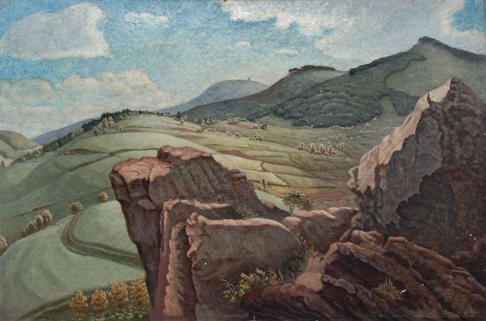 "28: Arthur Bracki ""Am Glatzer Schneeberggebirge"". 1940."