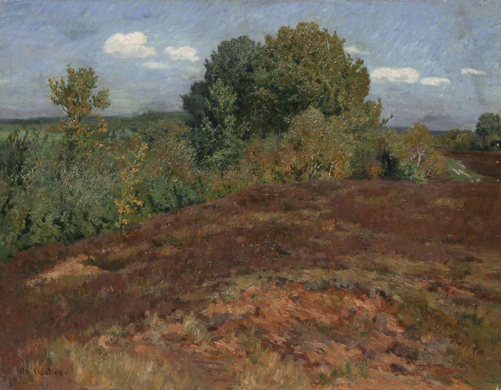 36: Wilhelm Claudius, Sommer in der Heide bei Amelingha