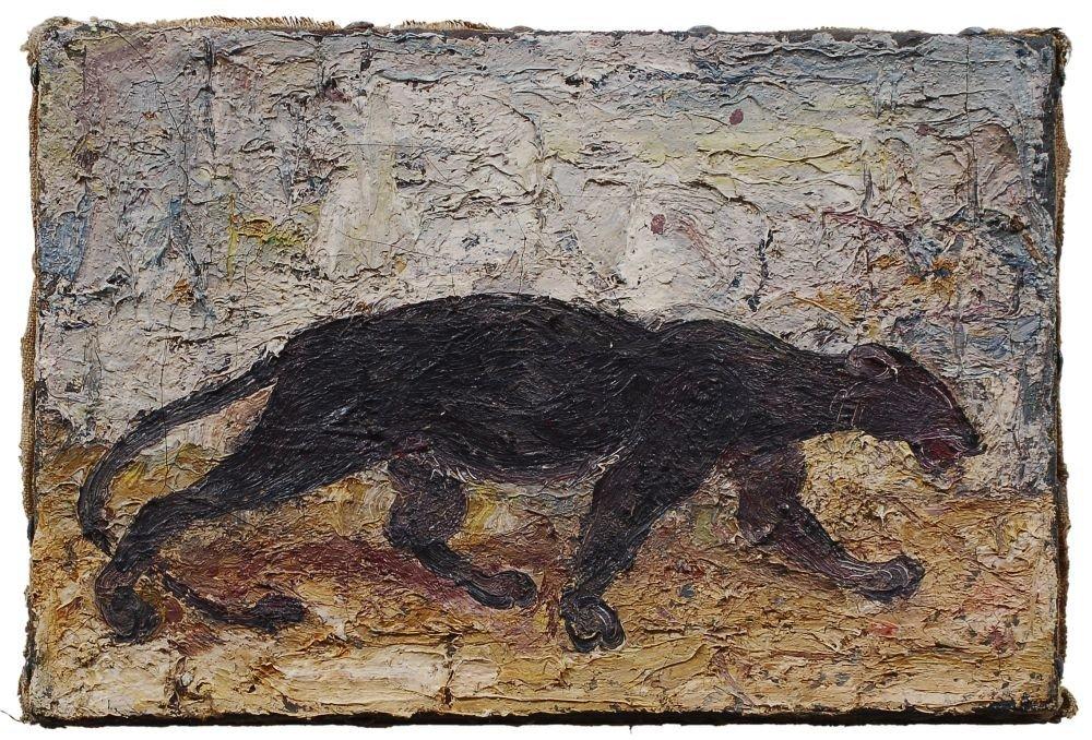 48: Josef Hegenbarth, Panther. 1940's.