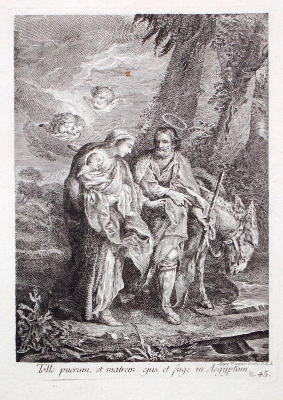 """206: Joseph (Appo) Wagner """" Tolle perum, et matrem ejus"""