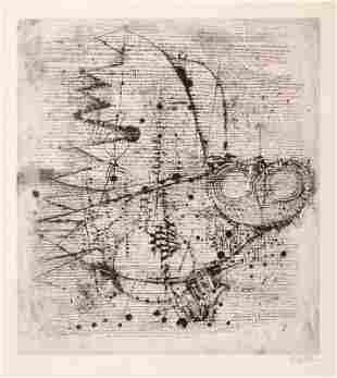 "310: Johnny Friedlaender ""La Chouette"". 1971."