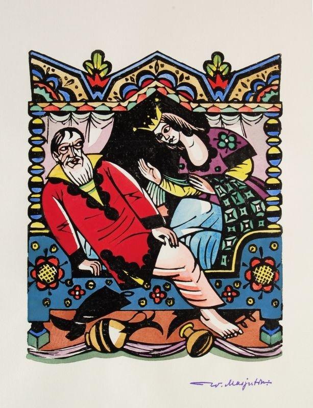 """586: Wassili Nikolajewitsch Masjutin """"Der goldene Hahn"""" - 3"""