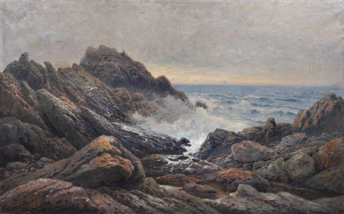 """7: Georg Burmester """"Felsgestade"""". 1892."""