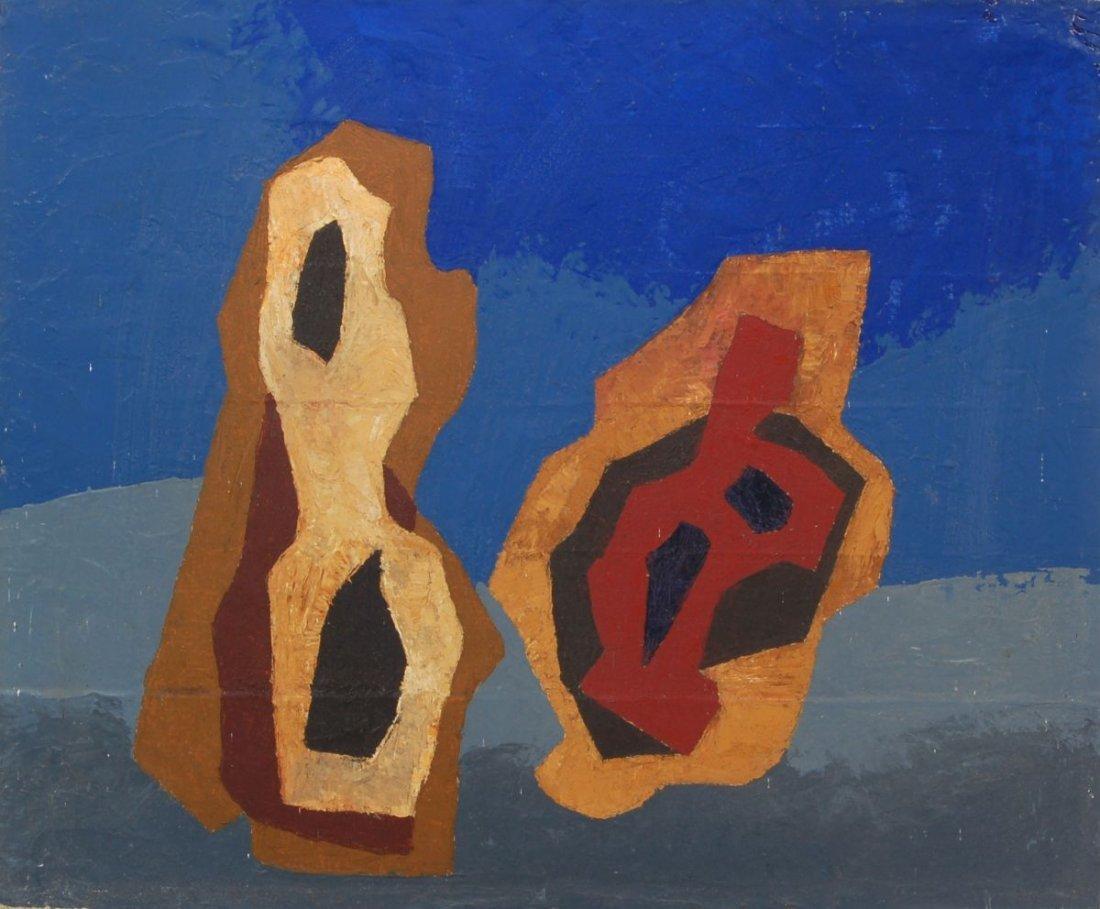 102: Thilo Maatsch, Abstrakte Formen. 1958.