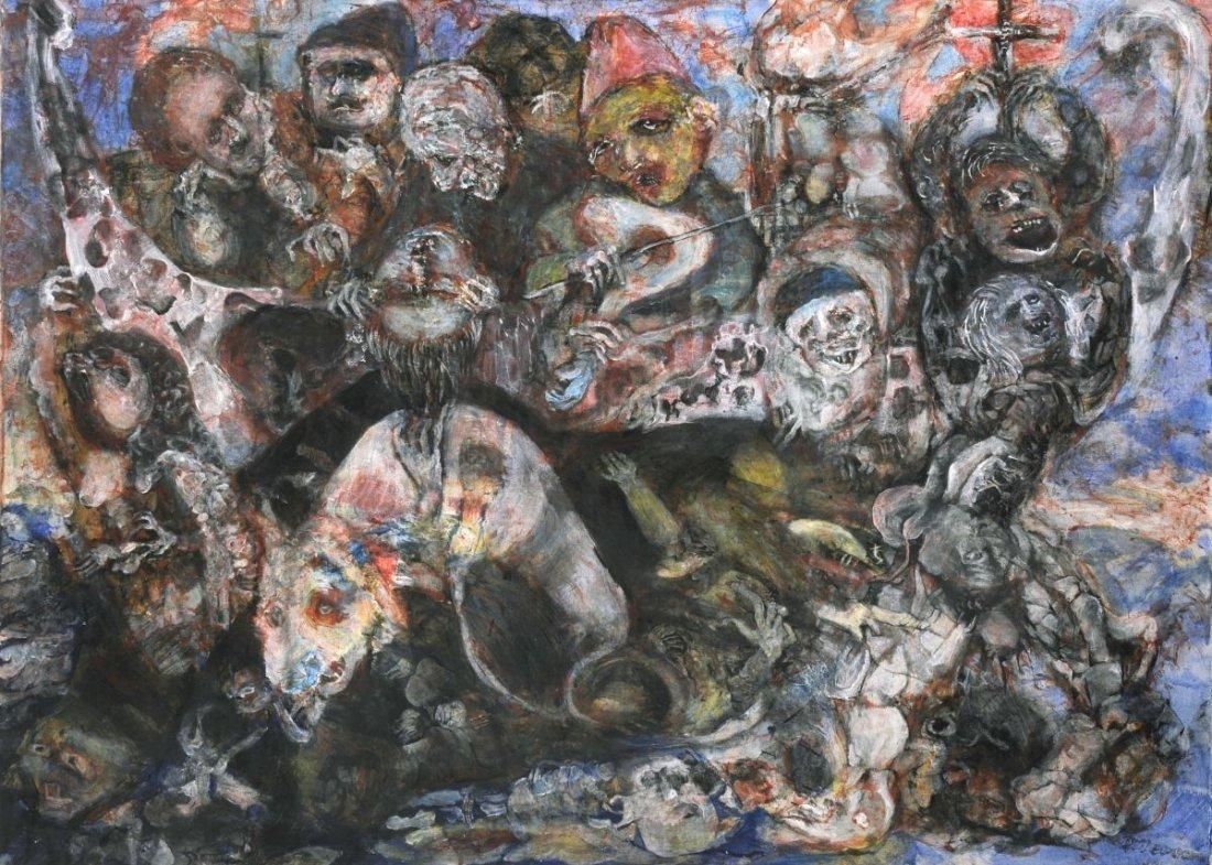 113: Heinz Otterson, Apokalyptische Vision. 1963.