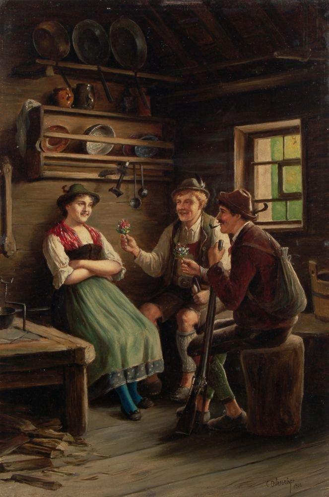 114: Carl Ostersetzer, Schwere Wahl. 1903.