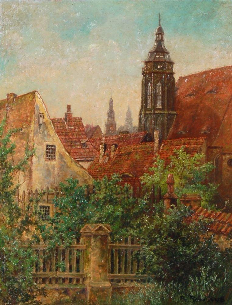 116: Franz Hermann Rowland, Blick auf die Altstadt von