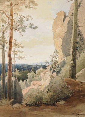 Gustav Adolf Thamm, Blick In Die S�chsische Schwei