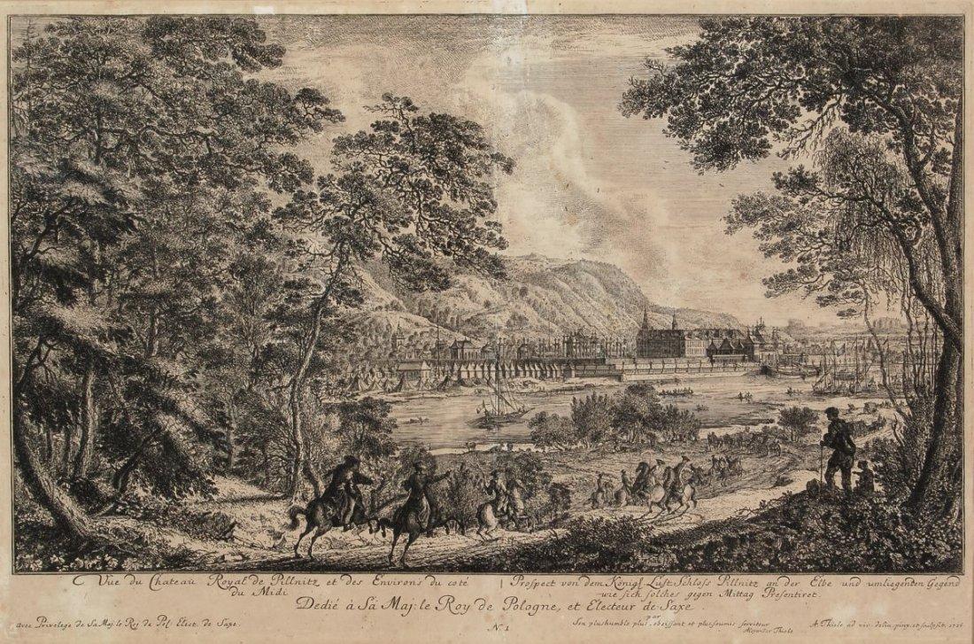 """186: Johann Alexander Thiele """"Prospect von dem Königl."""