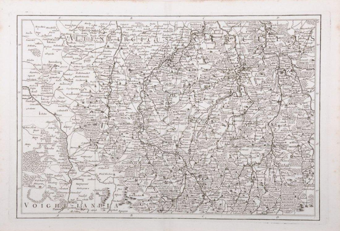"""189: Georges Louis Le Rouge """"Voight - Landia""""/ """"Comté d"""