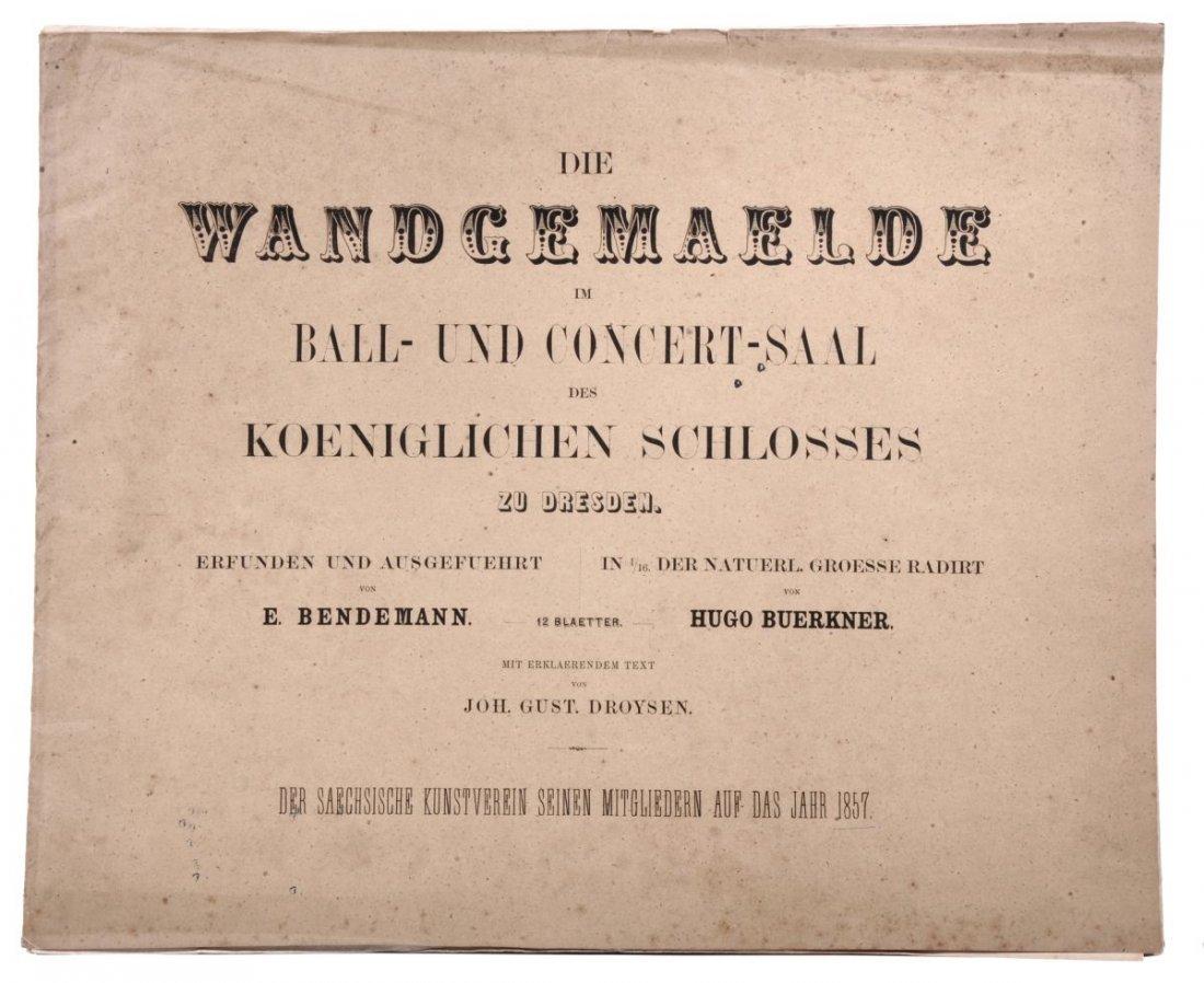 """191: Hugo Bürkner """"Die Wandgemälde im Ball und Concert-"""
