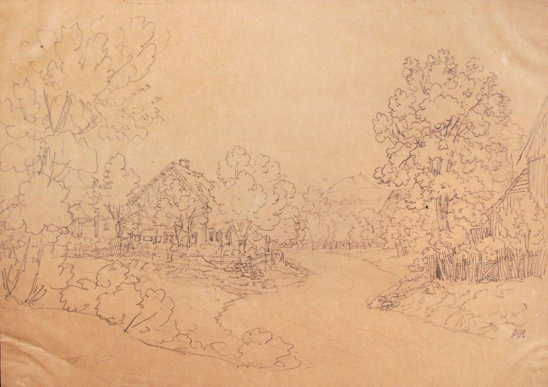 195: Remigius Adrianus van Haanen, Waldlandschaft mit H