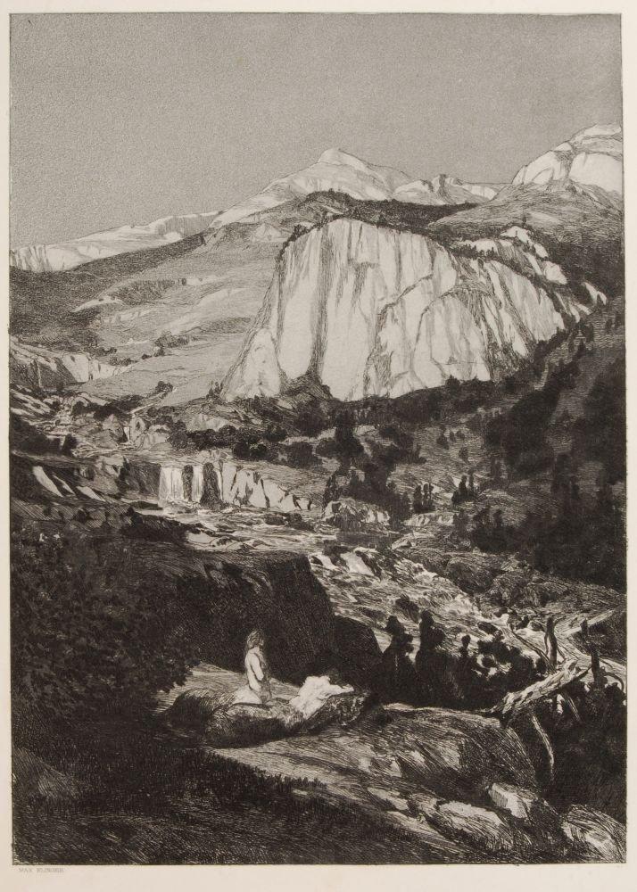 """200: Max Klinger """"Mondnacht"""". 1881."""