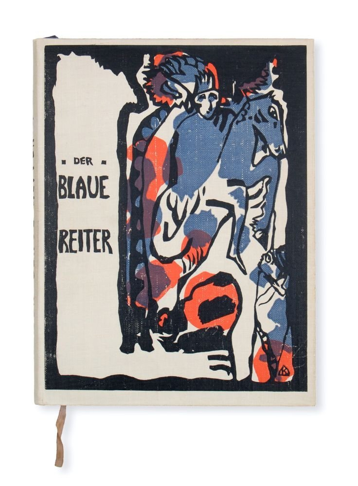 "514: Wassily Kandinsky, Franz Marc (Hrsg.) ""Der Blaue R"