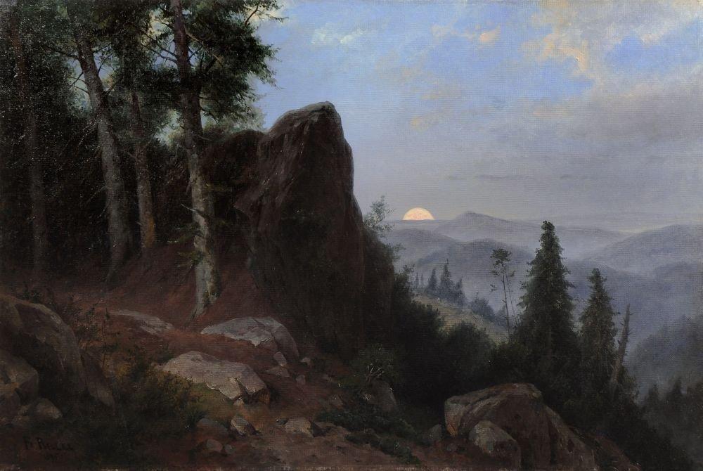 22: Friedrich Preller d.J., Blick in die Böhmische Schw