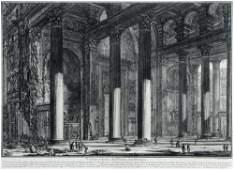 "193: Giovanni Battista Piranesi ""Veduta interna del Pro"