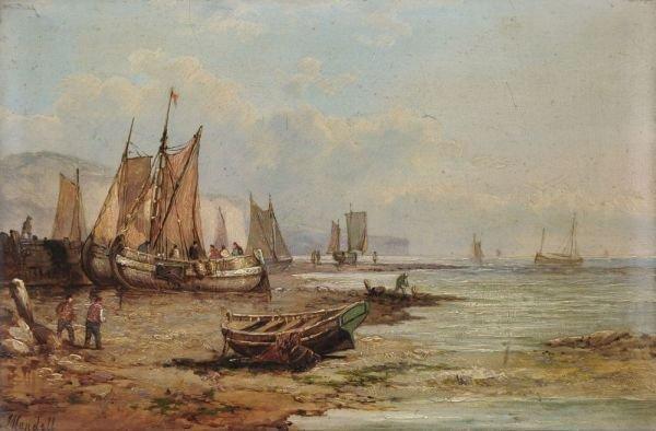 10: John James Wilson (?) Mundell, Hafenszene bei Dover