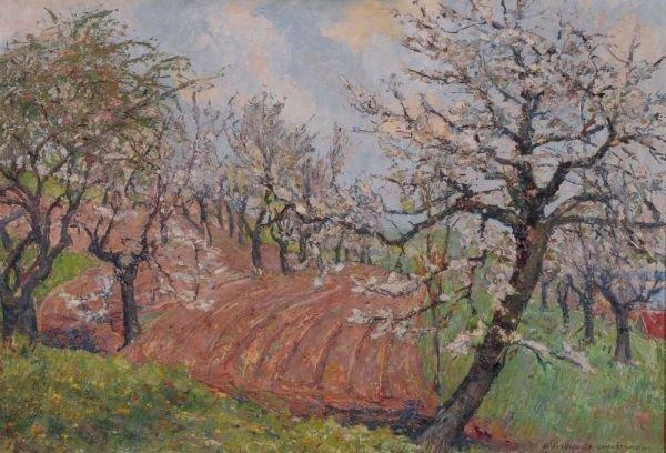 25: Richard Paul Burkhardt-Untermhaus, Kirschblüte. 194
