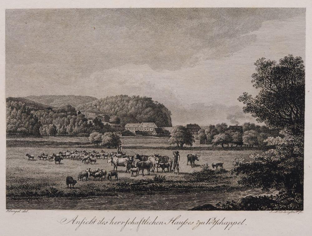 Johann Adolph Darnstedt, Acht Ansichten aus dem Plauens
