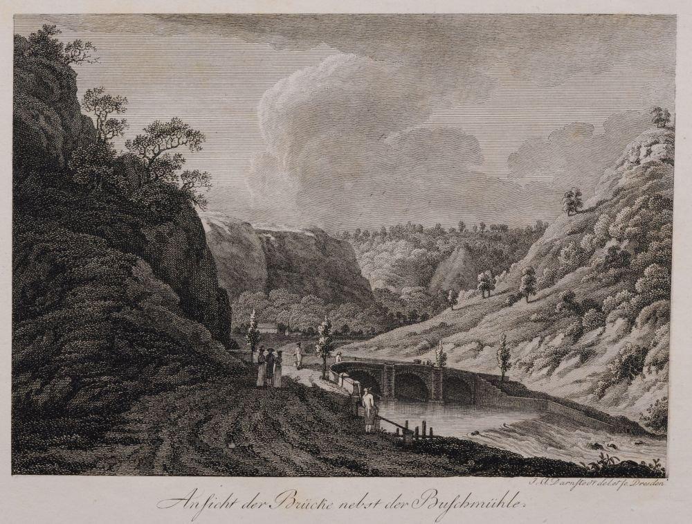 Johann Adolph Darnstedt, Acht Ansichten aus dem Plauens - 2