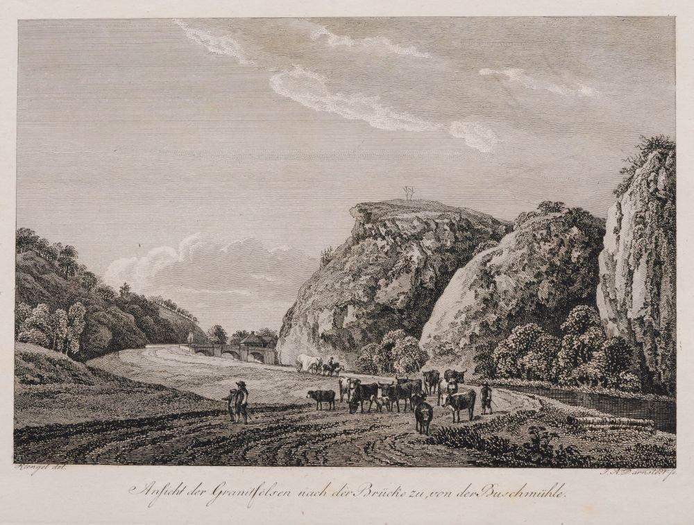 Johann Adolph Darnstedt, Acht Ansichten aus dem Plauens - 5