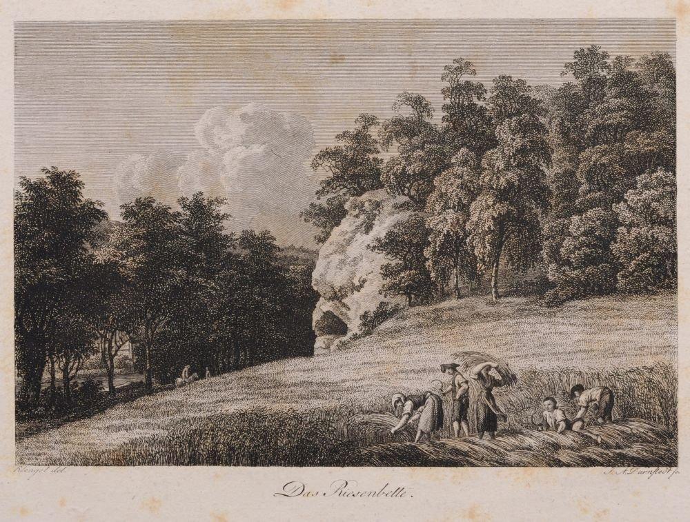 Johann Adolph Darnstedt, Acht Ansichten aus dem Plauens - 7