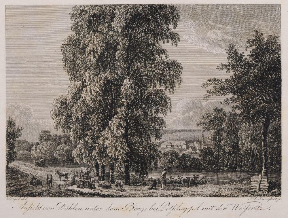 Johann Adolph Darnstedt, Acht Ansichten aus dem Plauens - 8
