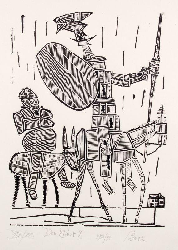 "Jerzy Panek ""Don Quichote II"". 1958."