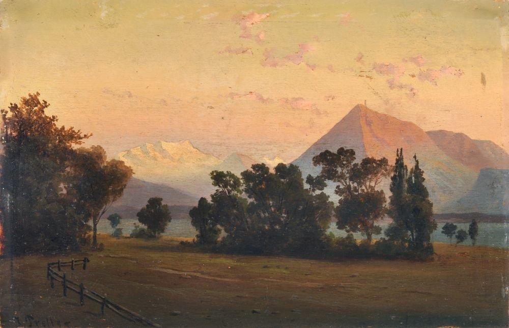 Julius Theodor Preller, Der Blausee mit Doldenhoernern