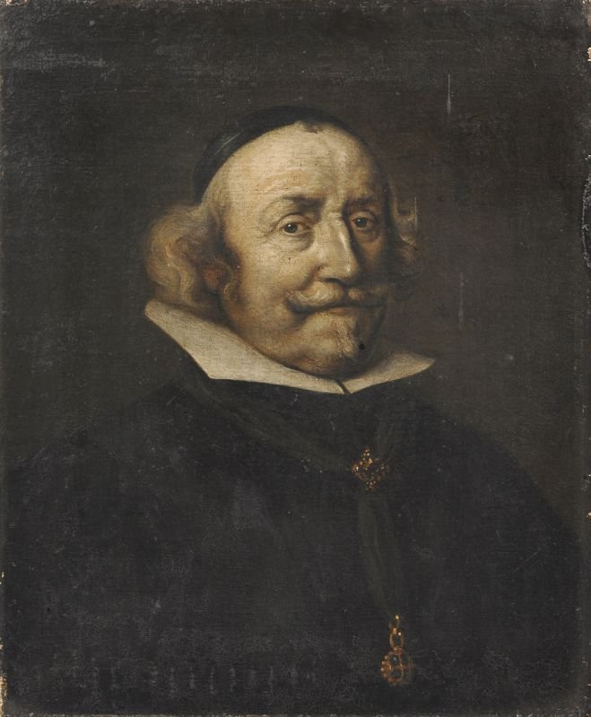 Unbekannter Kuenstler, Bildnis eines Klerikers. Wohl 2n